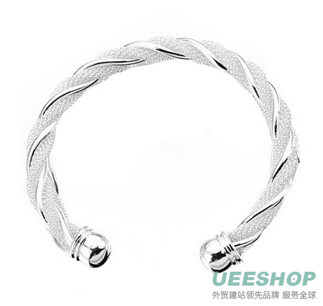 ANDI ROSE Fashion Jewelry 925 Sterling Silver Plated Band Chains Bangles Bracelets