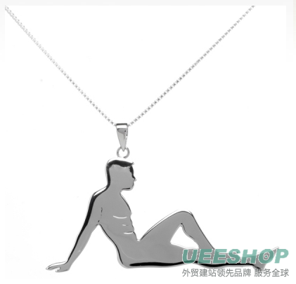 Valentine's Day Singles' Hunk Necklace